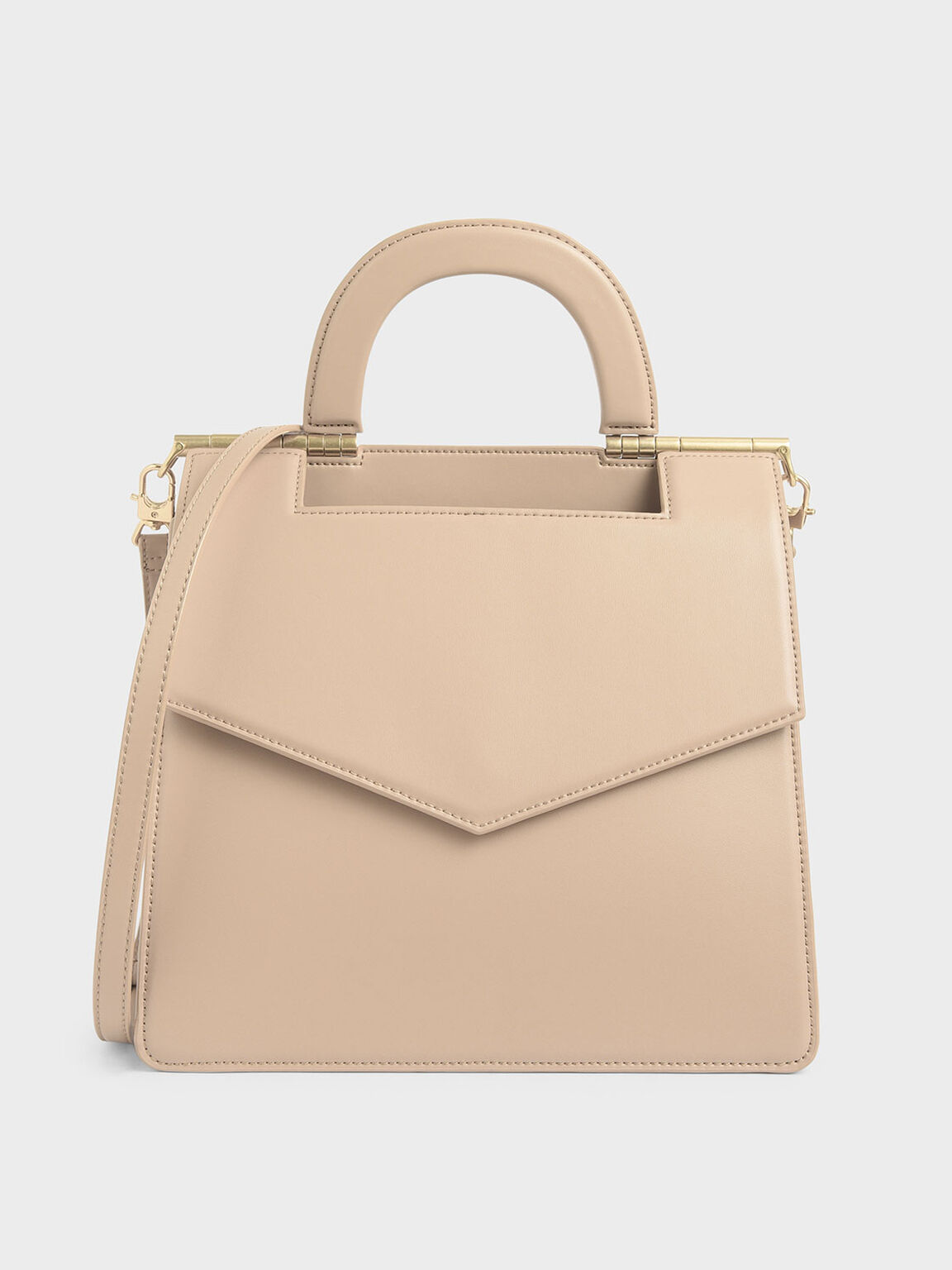 Envelope Bag, Beige, hi-res