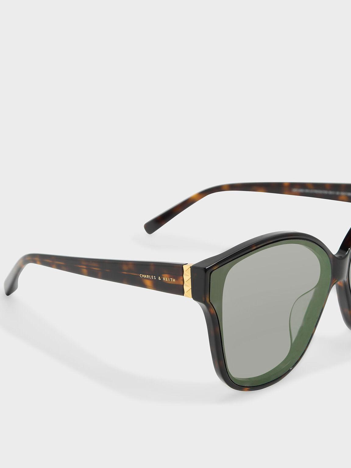 Acetate Frame Sunglasses, T. Shell, hi-res