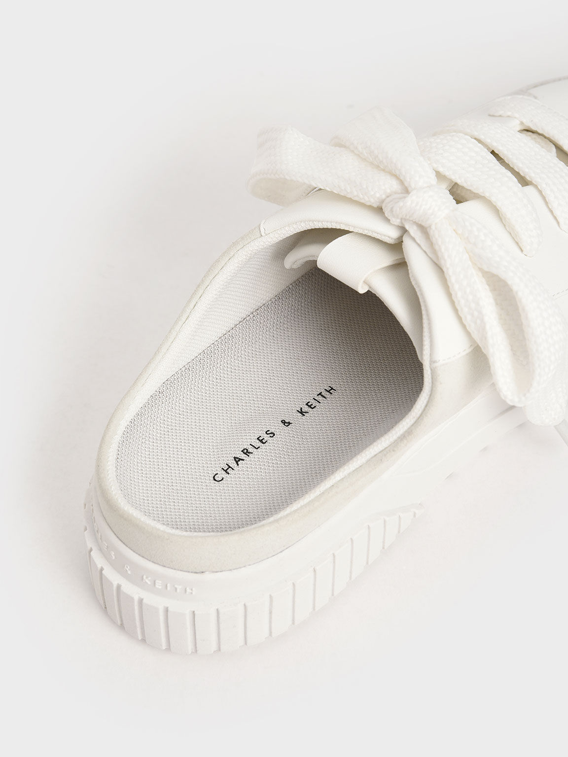 寬鞋帶懶人鞋, 白色, hi-res