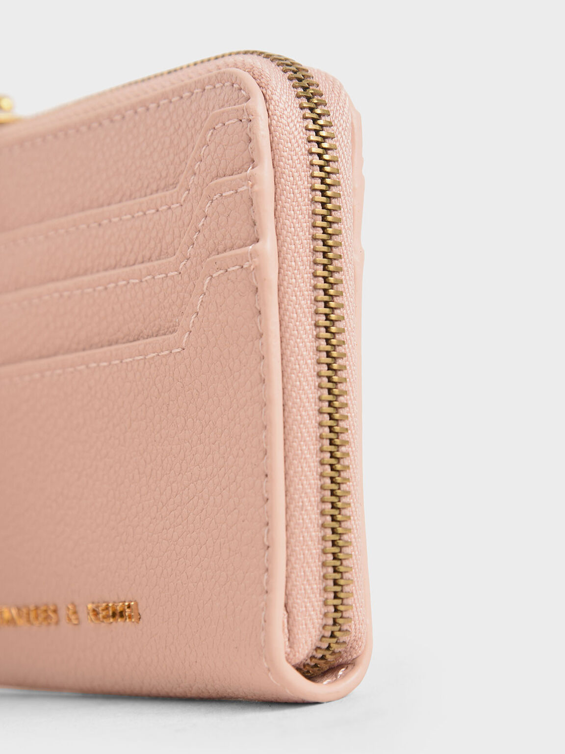 Multi-Slot Mini Pouch, Pink, hi-res