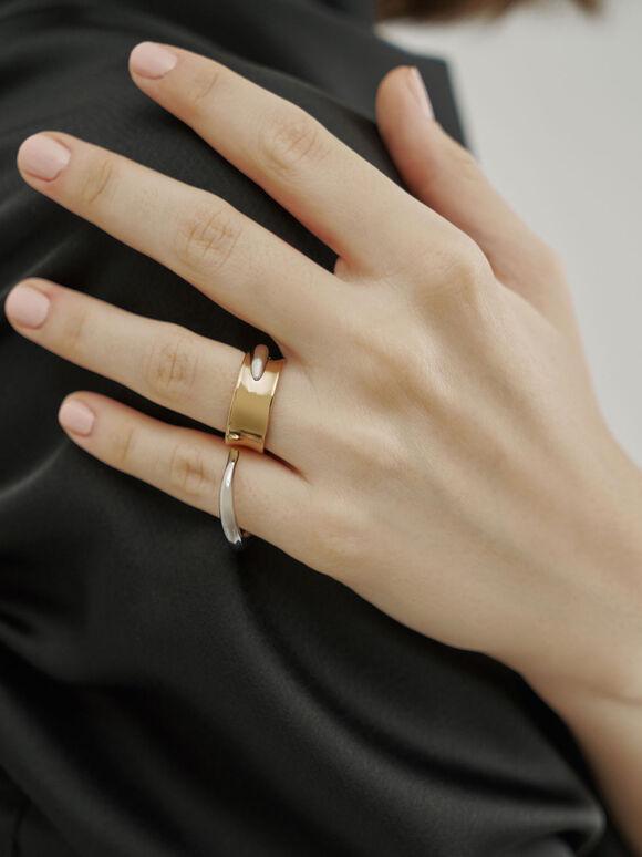 流體造型戒指, 混色, hi-res