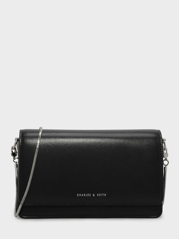 Evening Clutch, Black, hi-res