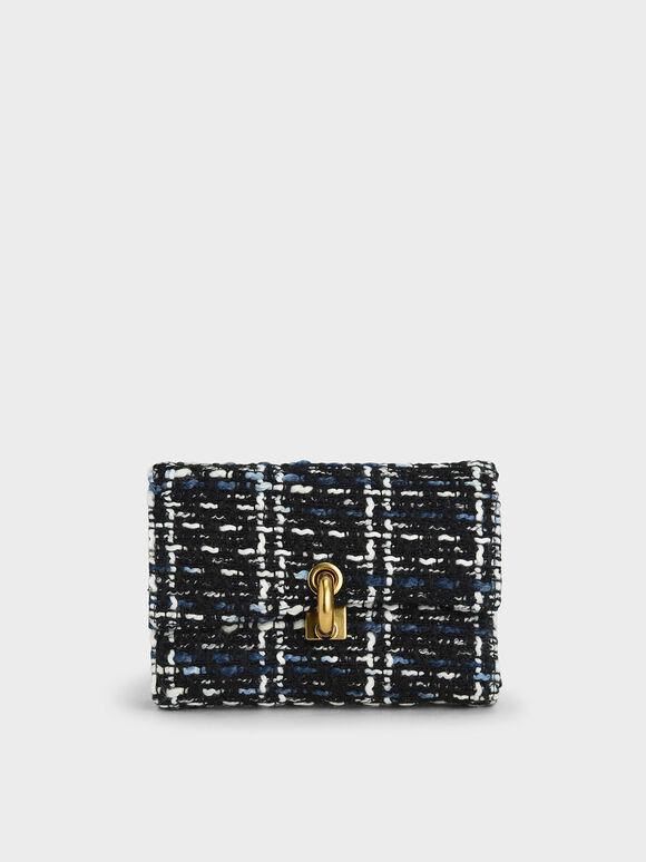 Turn-Lock Fold Wallet, Multi, hi-res