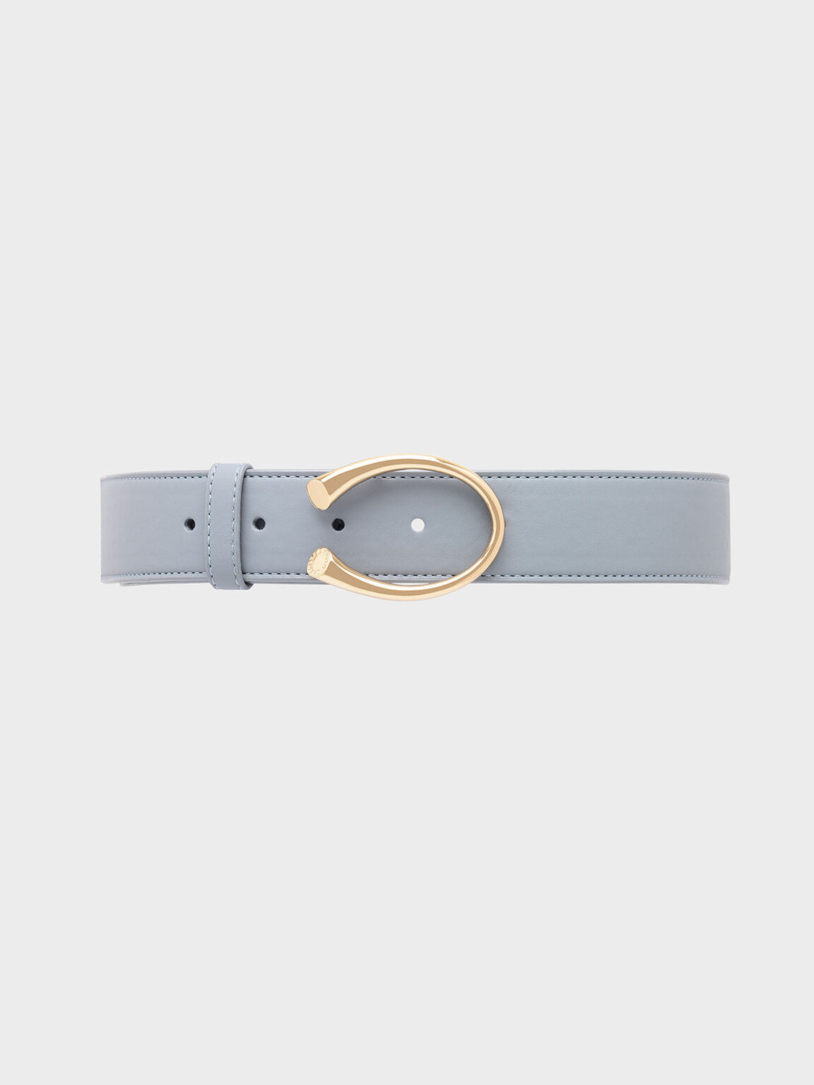 Metal Buckle Low Waist Belt, Moss, hi-res