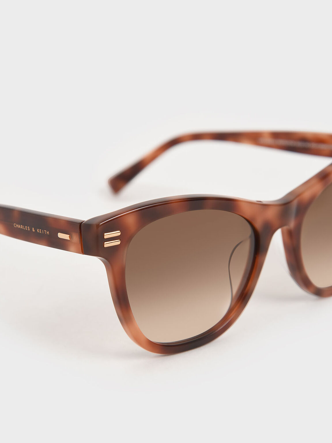 Tortoiseshell Acetate Rectangular Sunglasses, T. Shell, hi-res