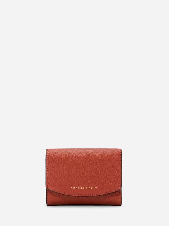 Small Envelope Wallet, Brick, hi-res