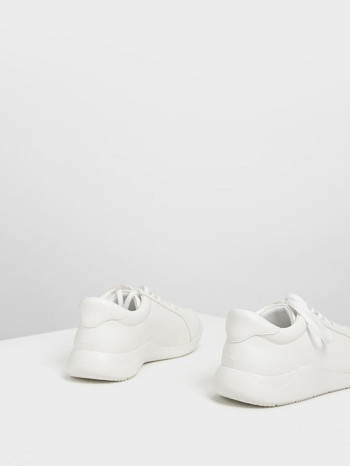 White Sneakers, White, hi-res