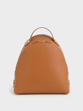 Large Dome Backpack, Tan