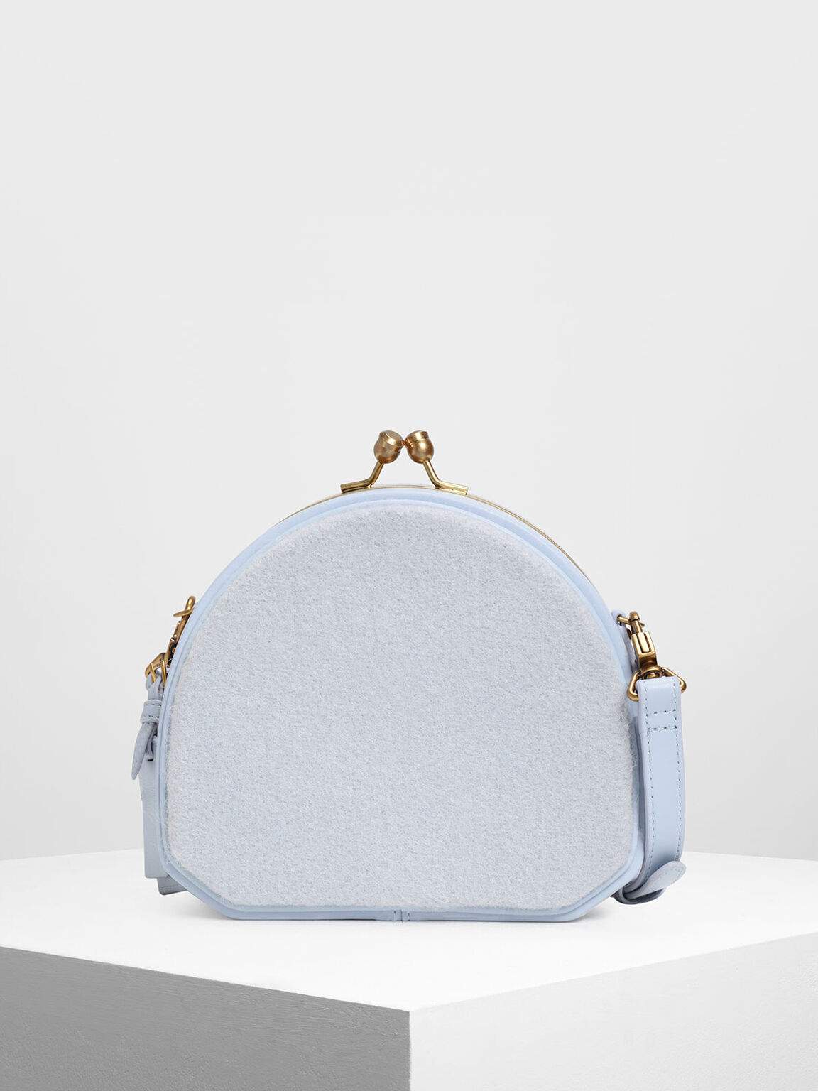 圓形斜背包, 淺藍色, hi-res