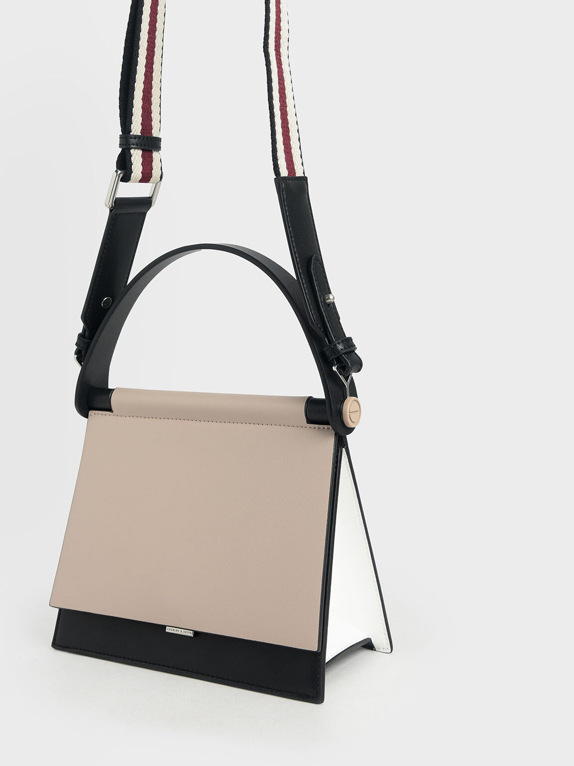 Sculptural Bag, Nude, hi-res