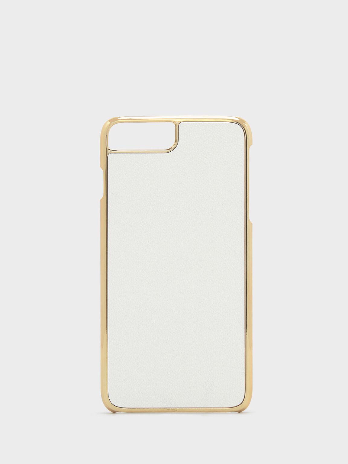 iPhone 7 Plus/8 Plus Textured Case, White, hi-res