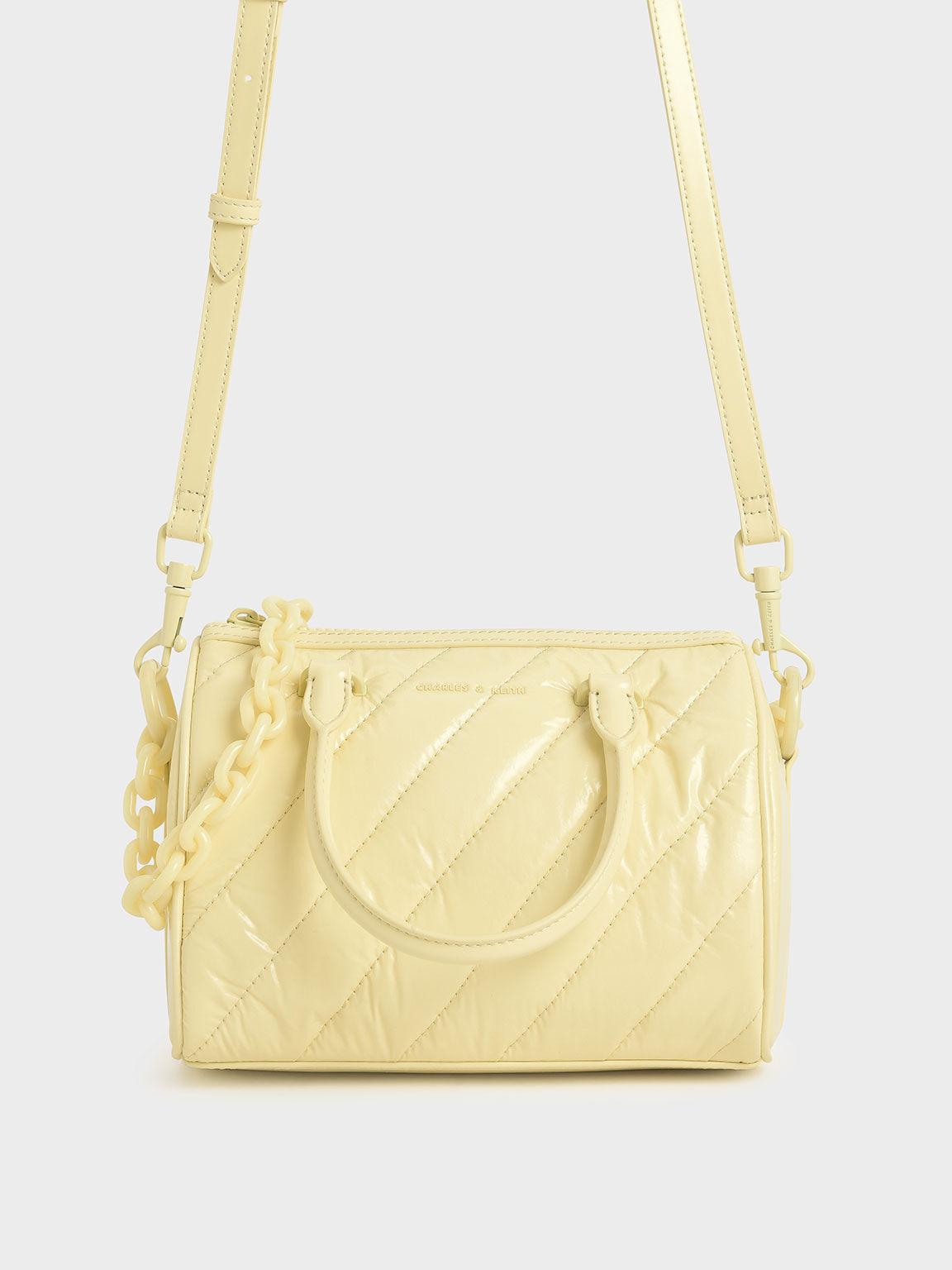Glow-In-The-Dark Tote Bag, Butter, hi-res