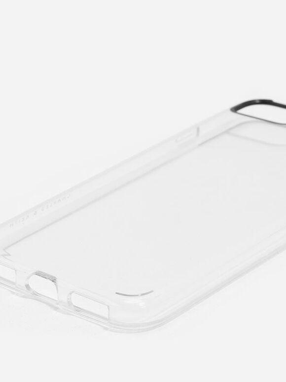 Metallic iPhone Case, White, hi-res