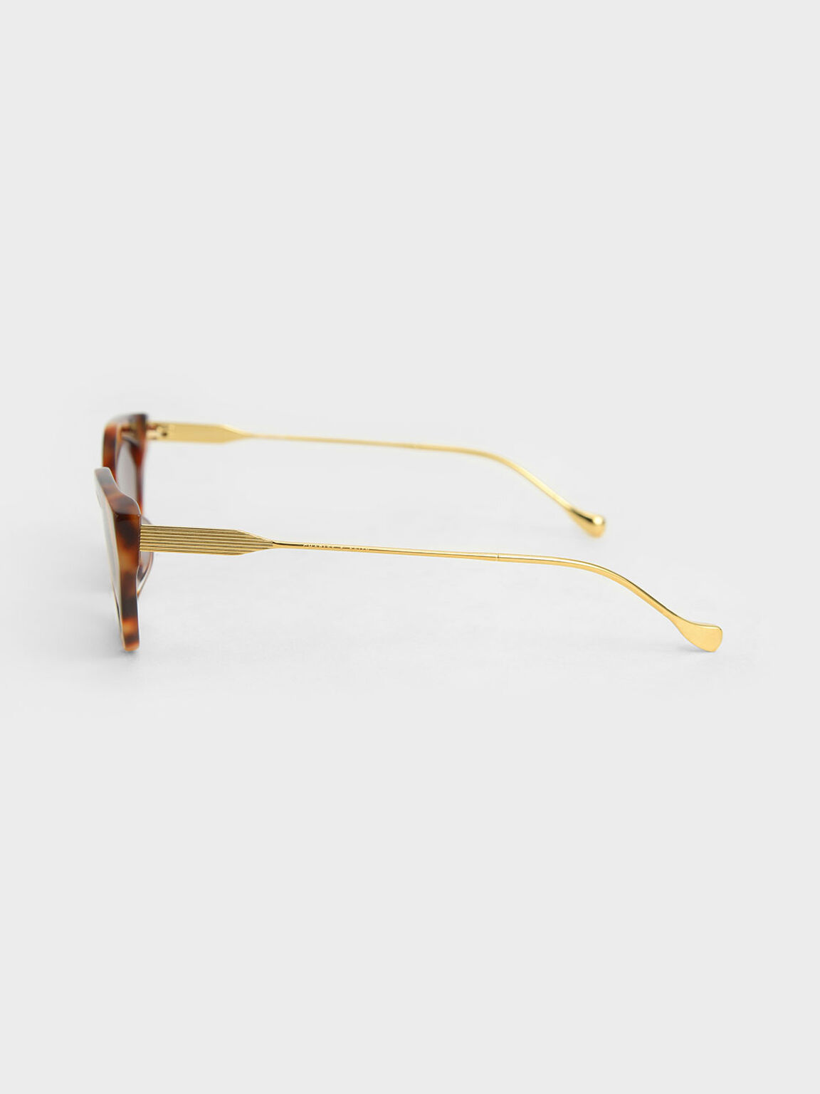 Cat-Eye Tortoiseshell Acetate Sunglasses, T. Shell, hi-res