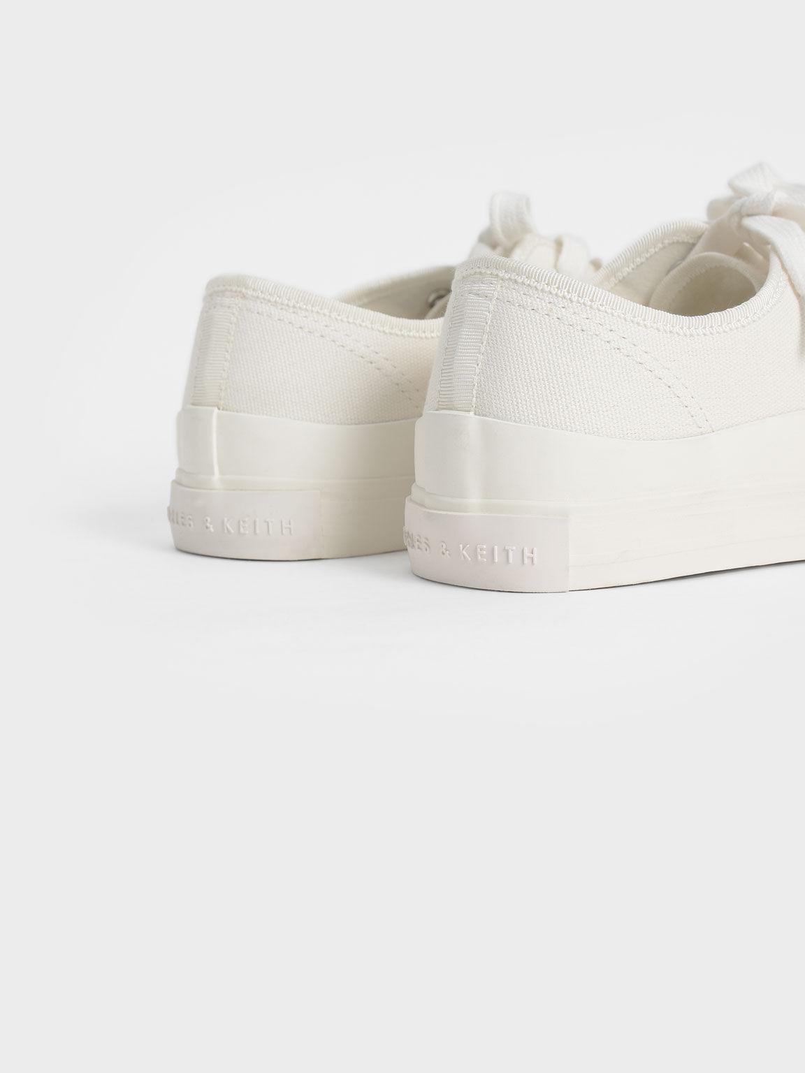 有機棉休閒鞋, 石灰白, hi-res
