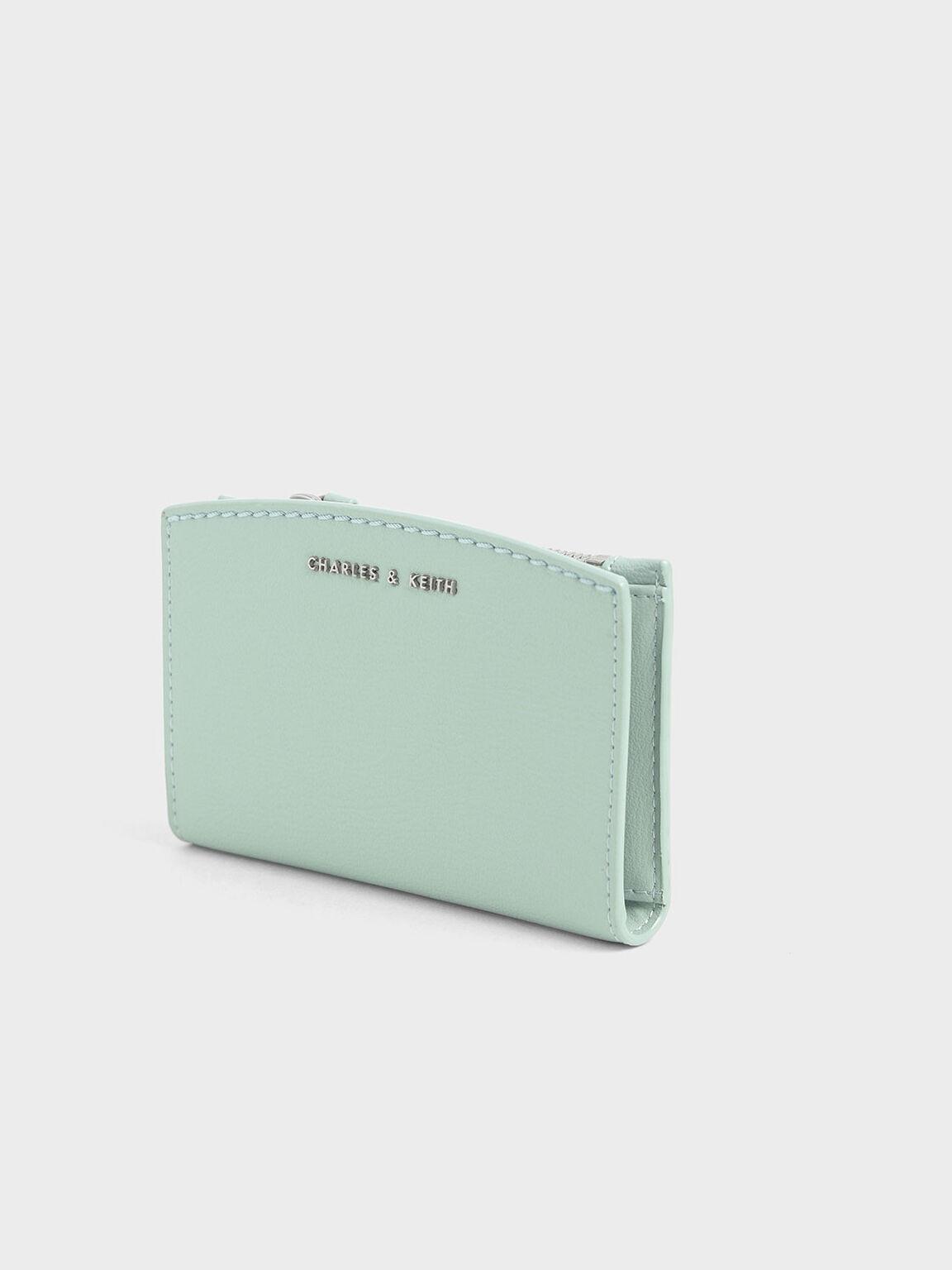 折疊式票卡夾, 薄荷綠, hi-res