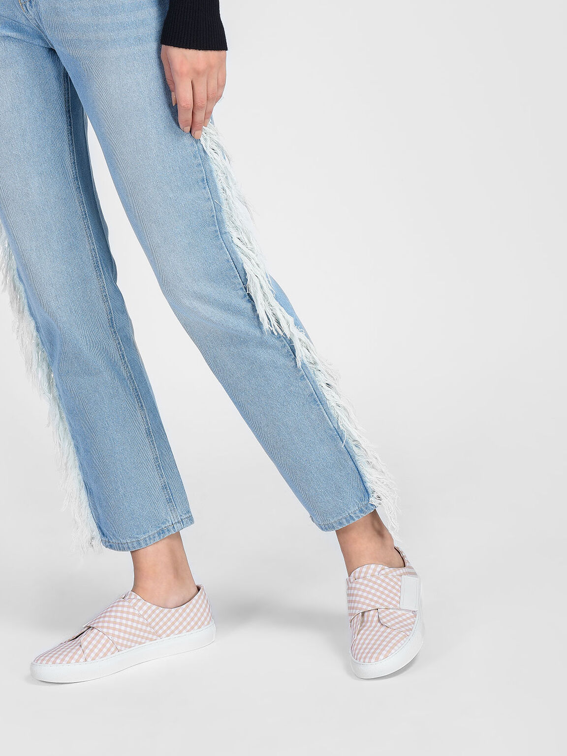 Velcro Sneakers, Pink, hi-res
