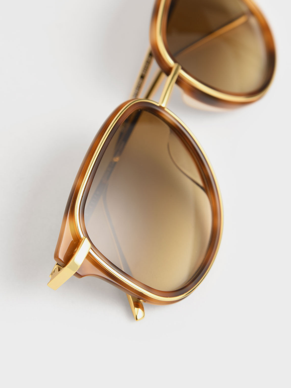 Oval Sunglasses, T. Shell, hi-res
