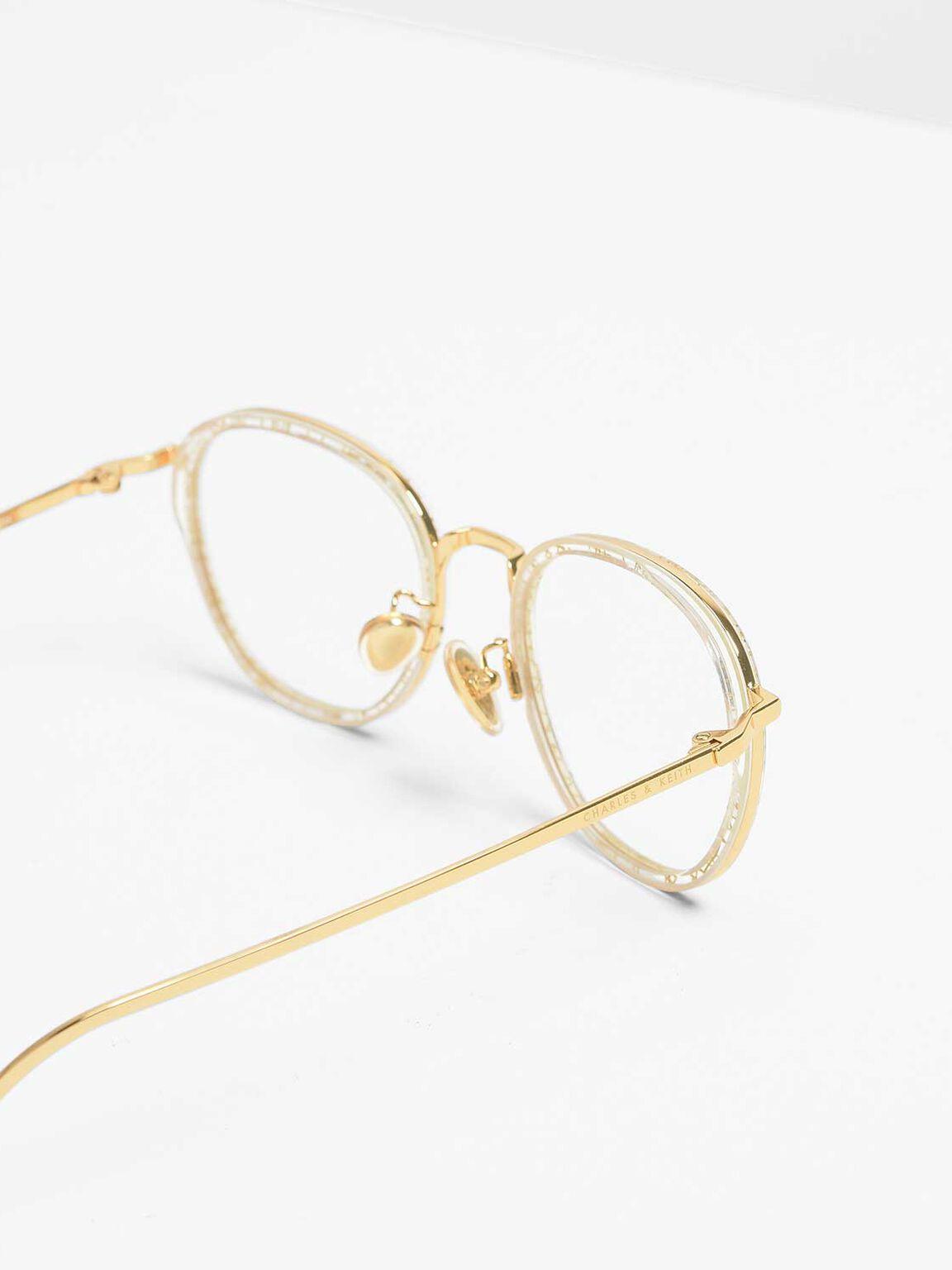 Semi-Precious Stone Sunglasses, Multi, hi-res