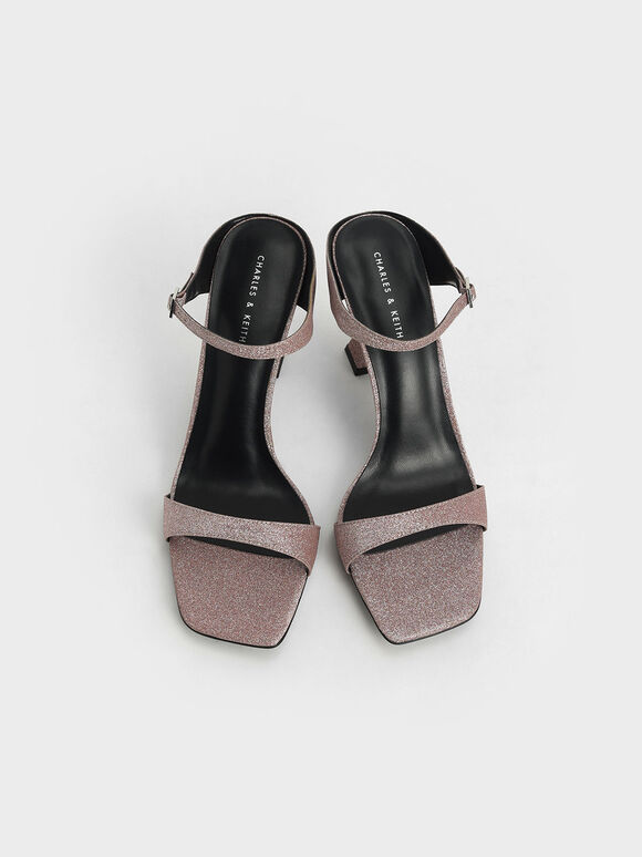 Nude Ankle Cuff Heels | CHARLES & KEITH EU