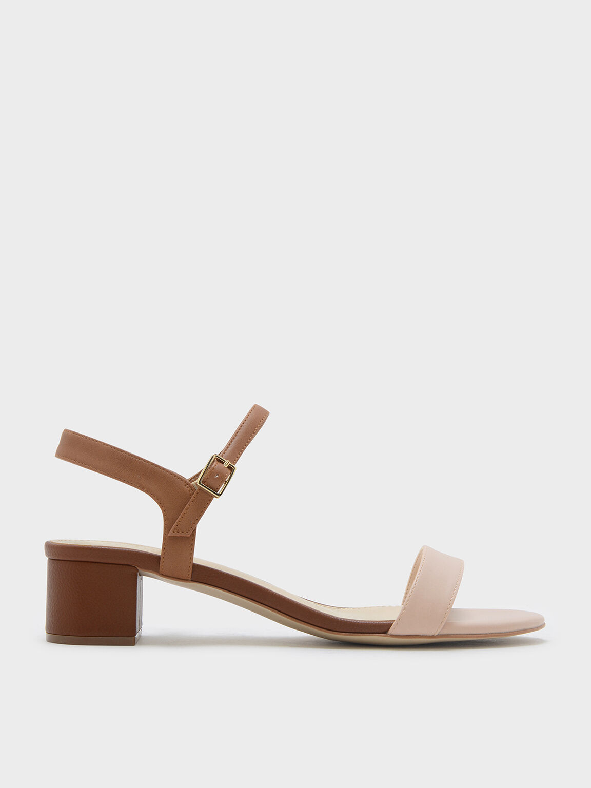 Multi Basic Open Toe Sandals Charles Keith Usd