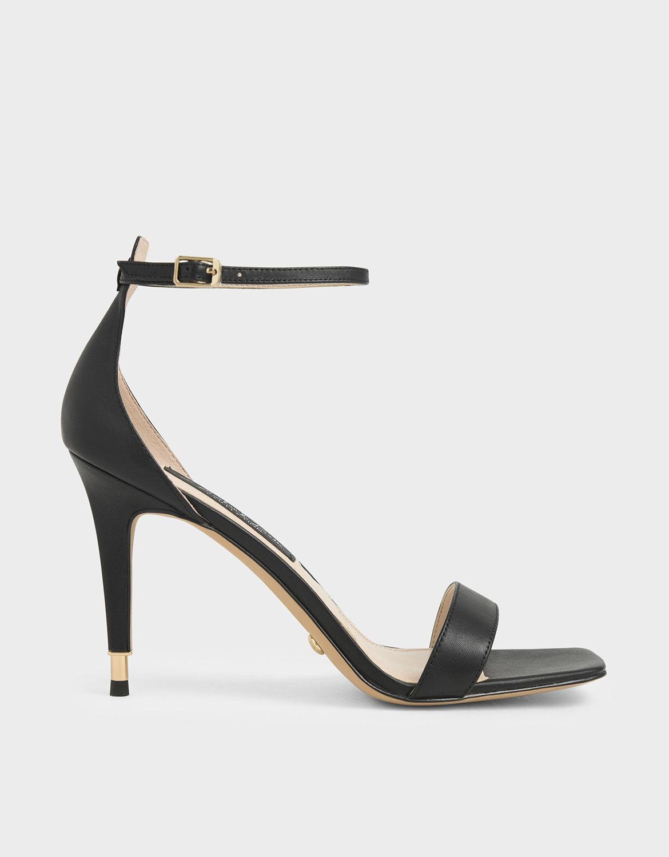 Leather Stiletto Heels | CHARLES \u0026 KEITH SG