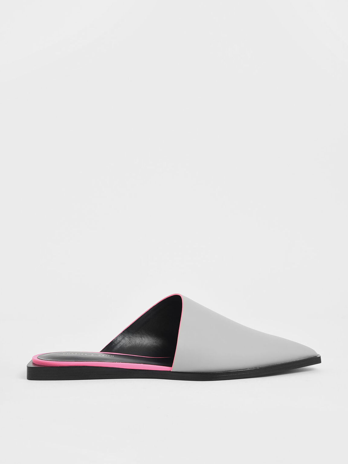 Asymmetric Mules, Grey, hi-res