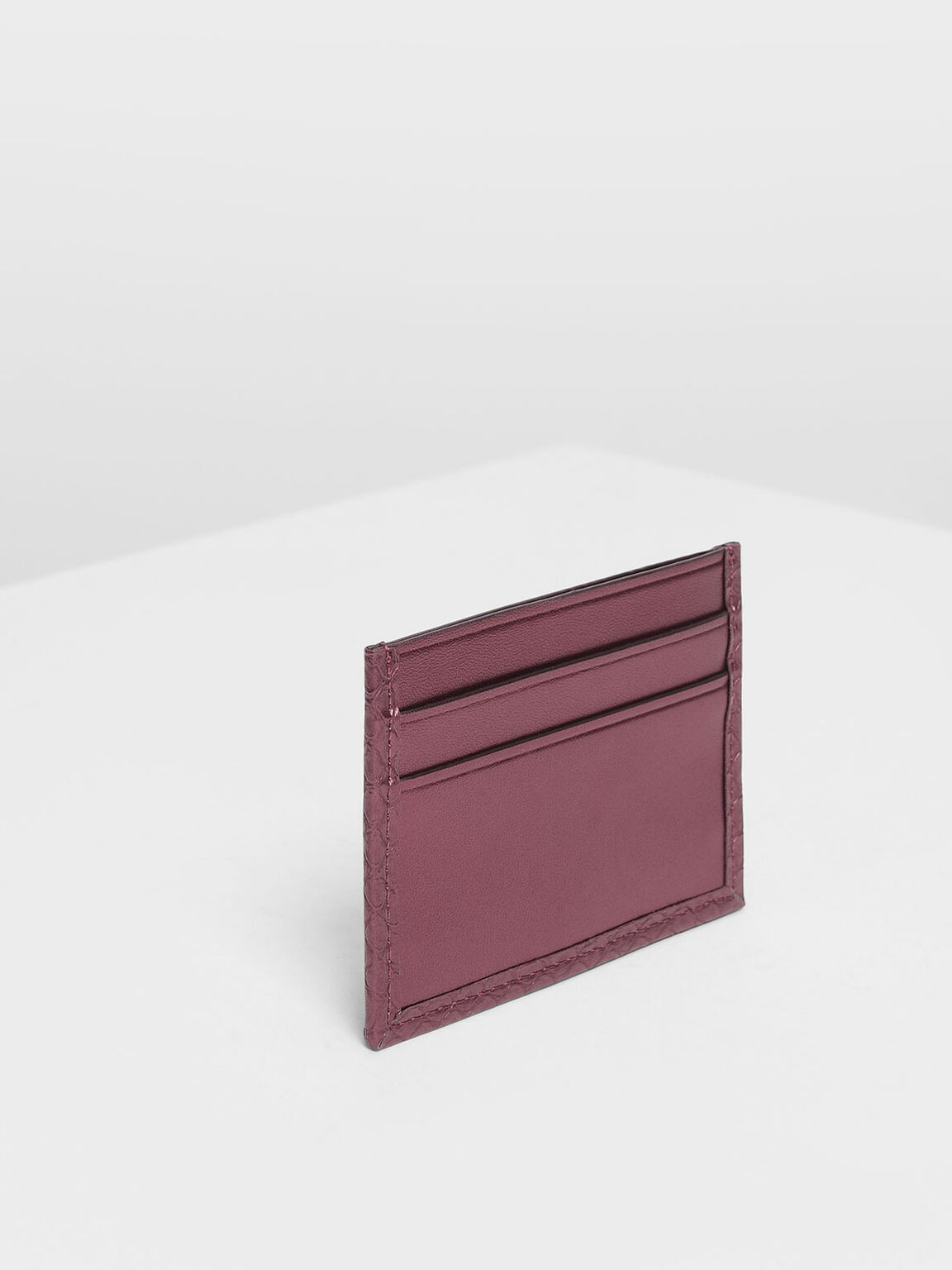 Classic Multi Slot Card Holder, Prune, hi-res