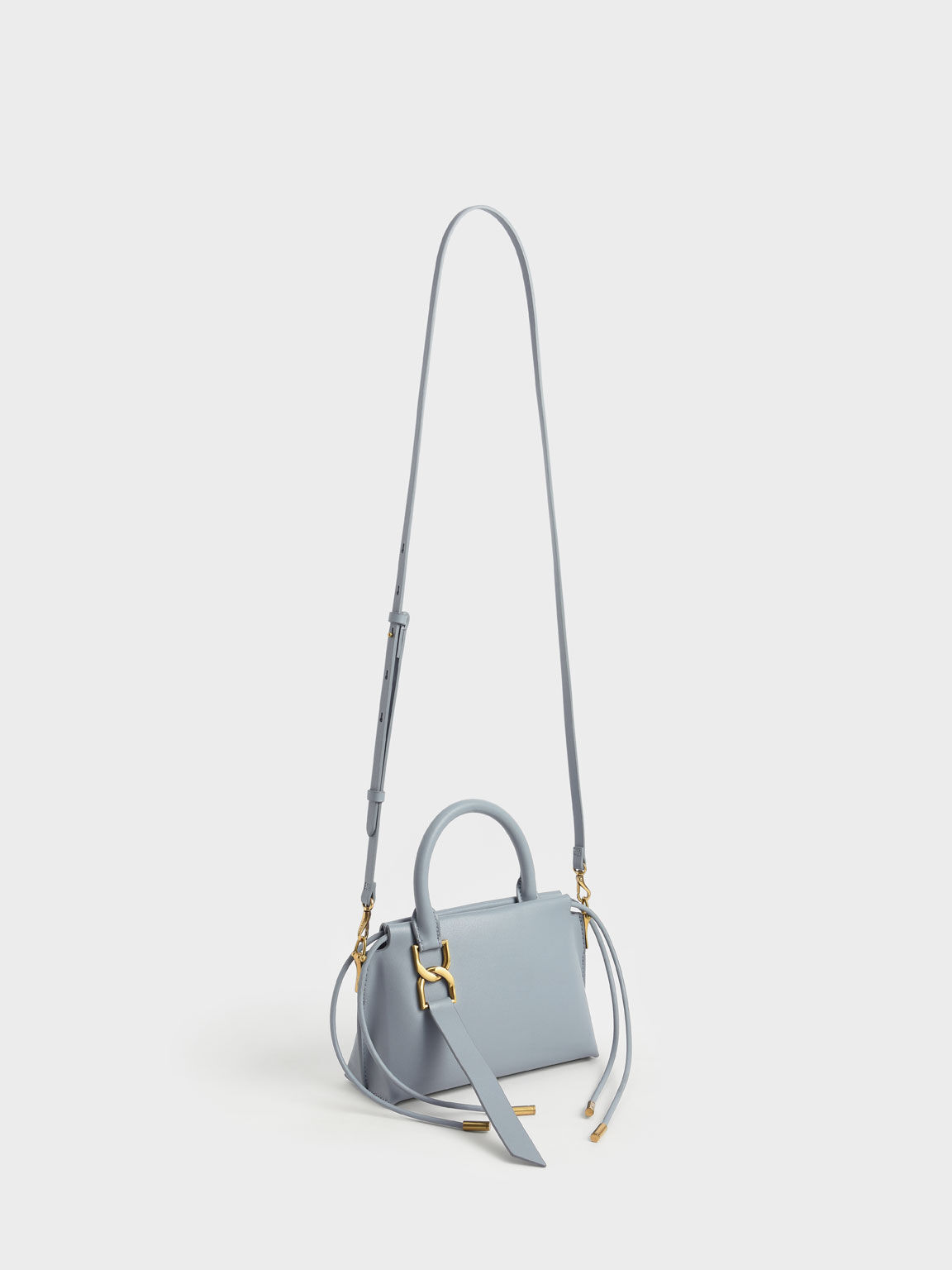 Fringe Detail Crossbody Bag, Steel Blue, hi-res