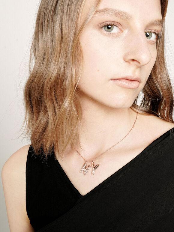 Alphabet 'Y' Charm, Rose Gold, hi-res