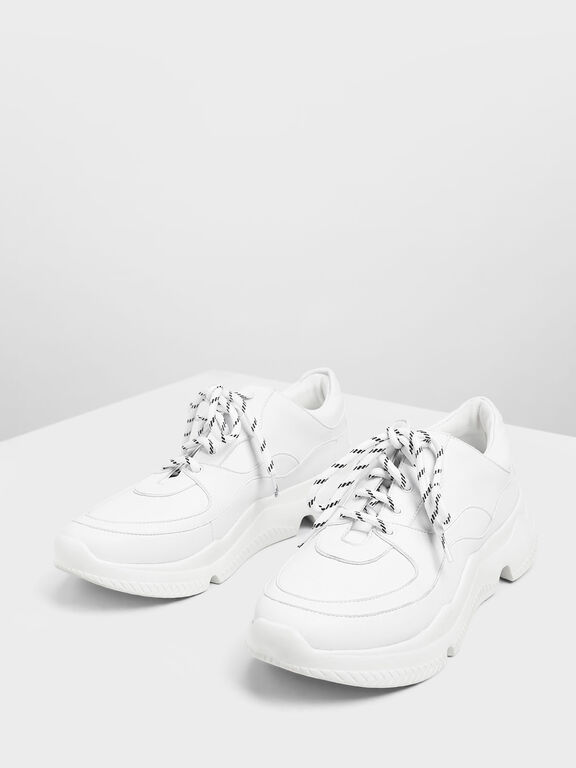 Chunky Sneakers, White