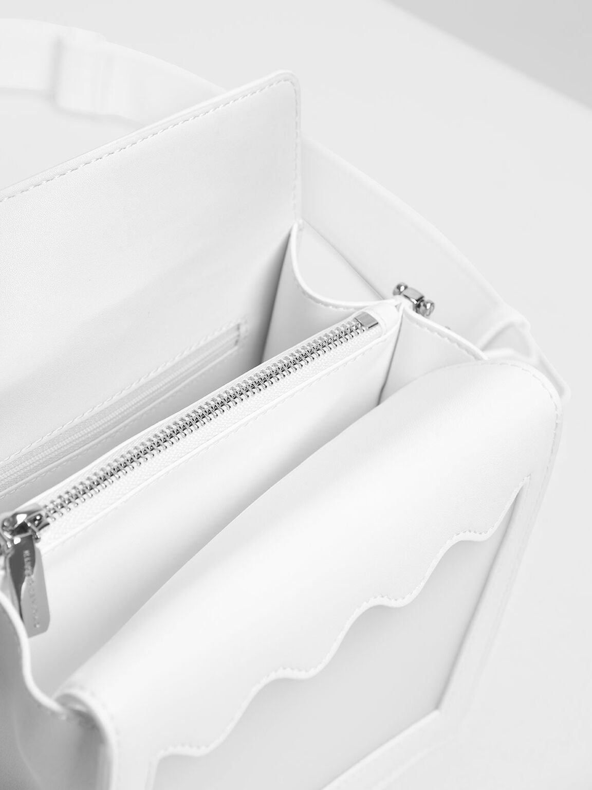 Window Crossbody Bag, White, hi-res