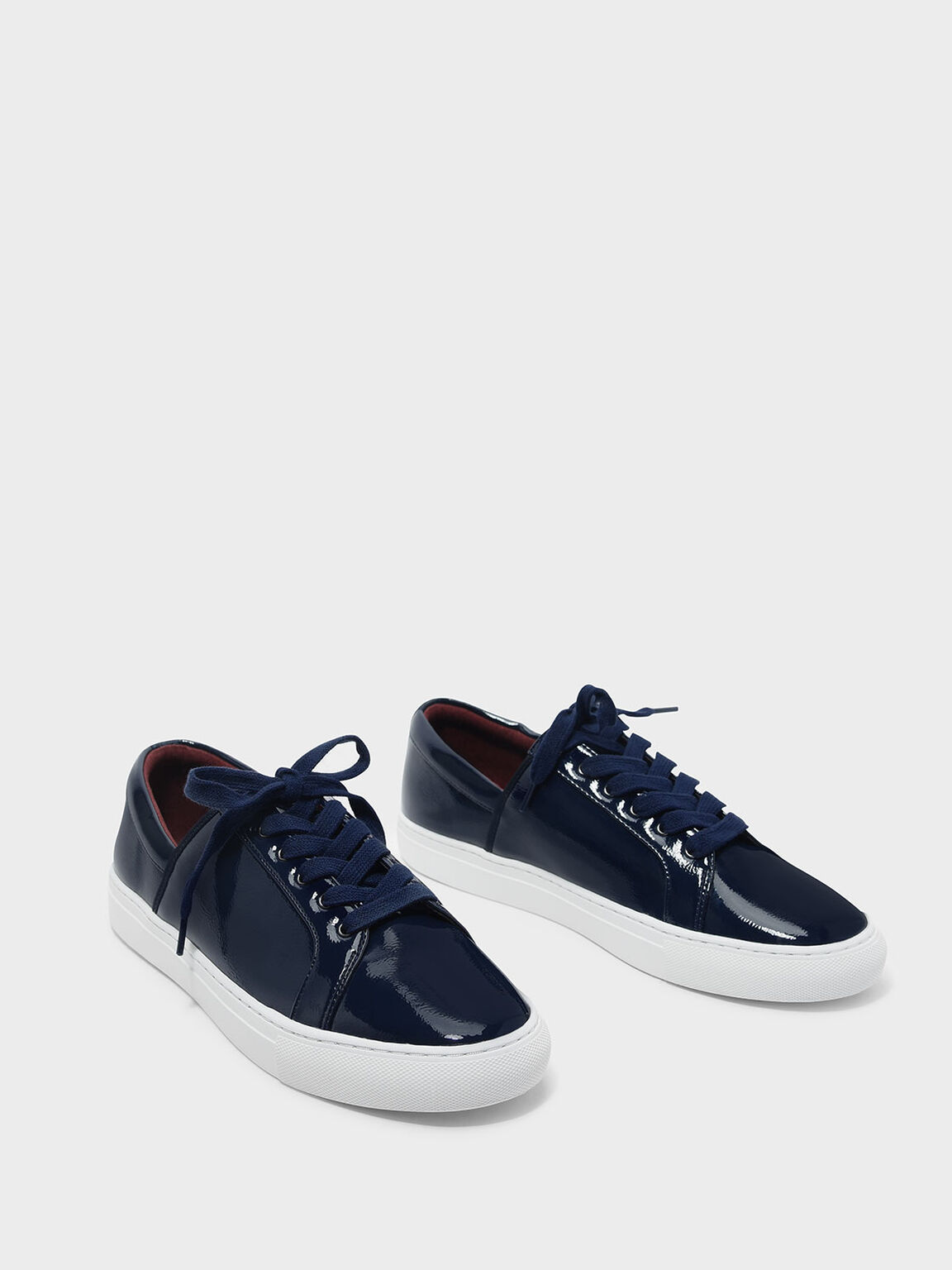 Classic Sneakers, Dark Blue, hi-res