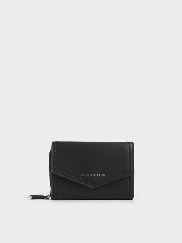 Classic Envelope Wallet, Black, hi-res
