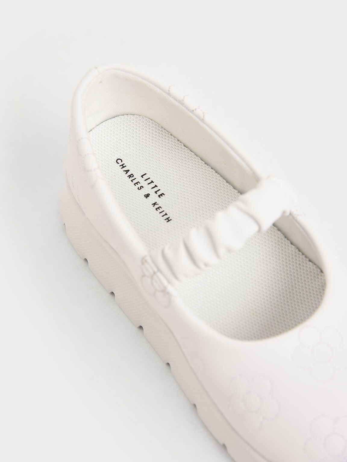 兒童厚底瑪莉珍鞋, 白色, hi-res