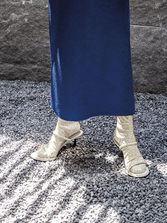Lucile 細跟拖鞋襪靴, 混色, hi-res