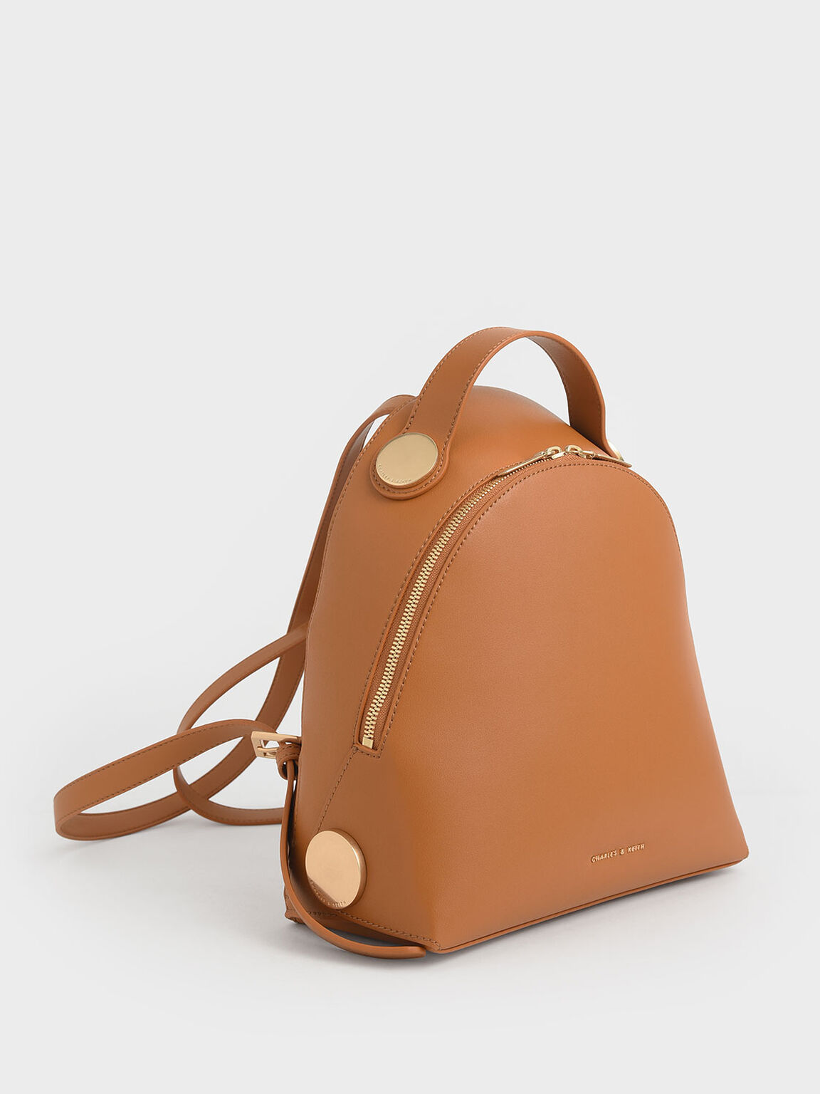 Large Dome Backpack, Tan, hi-res