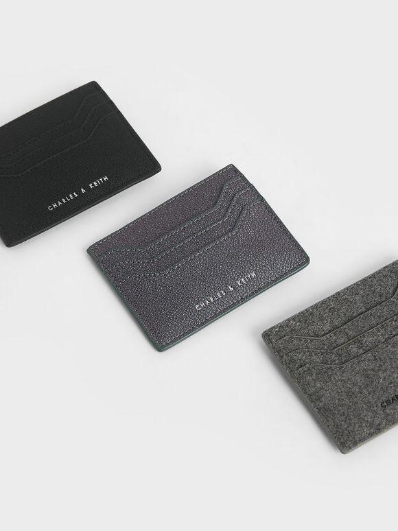 Multi-Slot Card Holder, Grey, hi-res