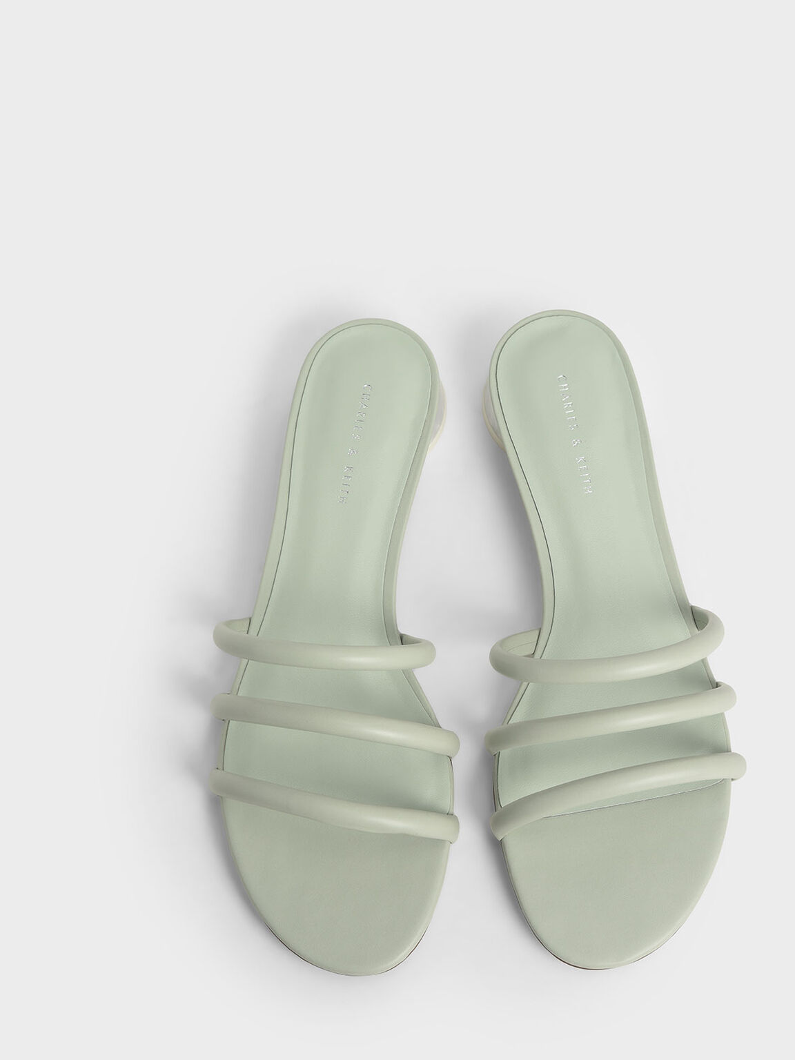 多帶圓柱跟拖鞋, 薄荷綠, hi-res