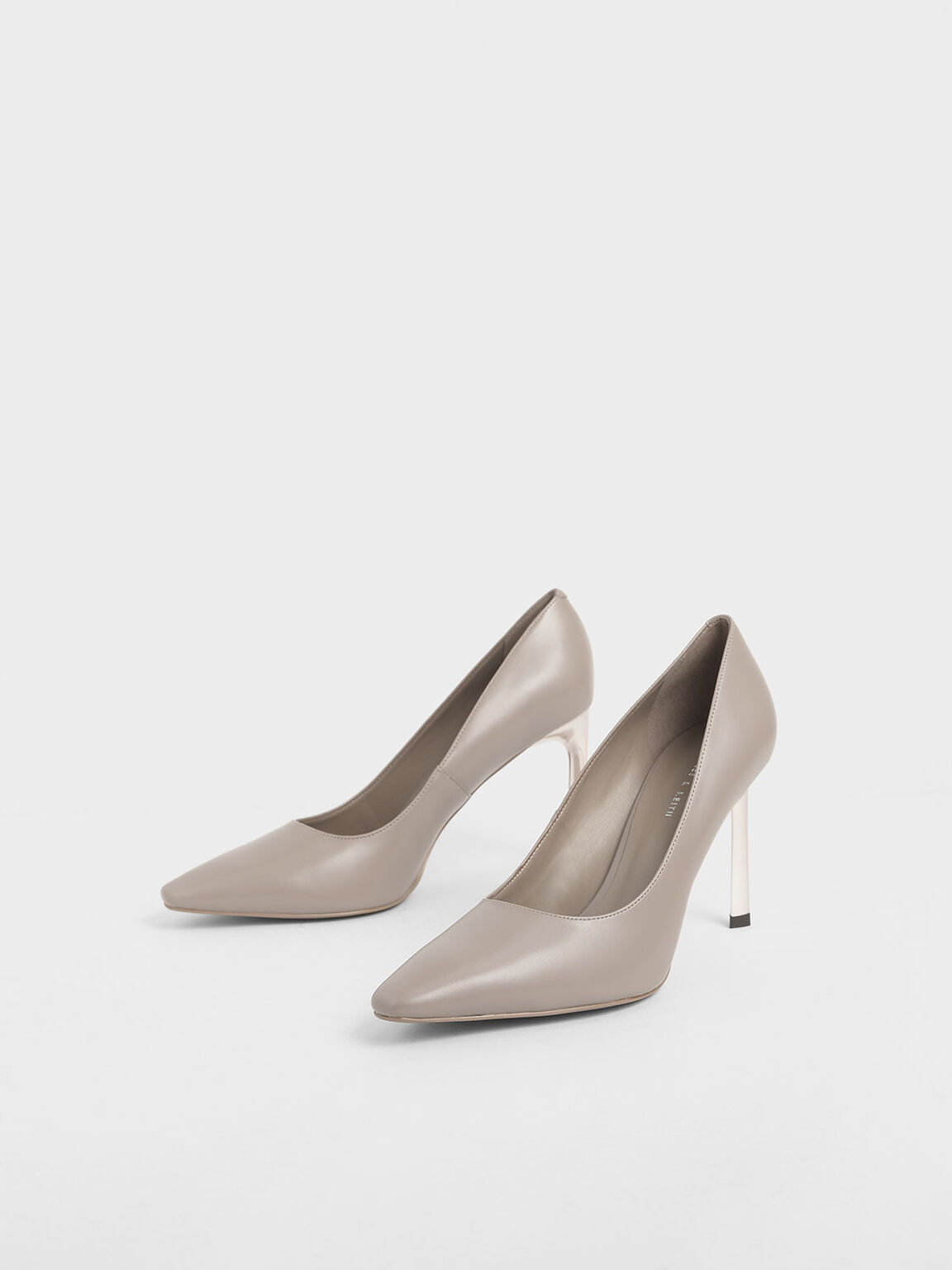 Sculptural Stiletto Pumps, Mauve, hi-res