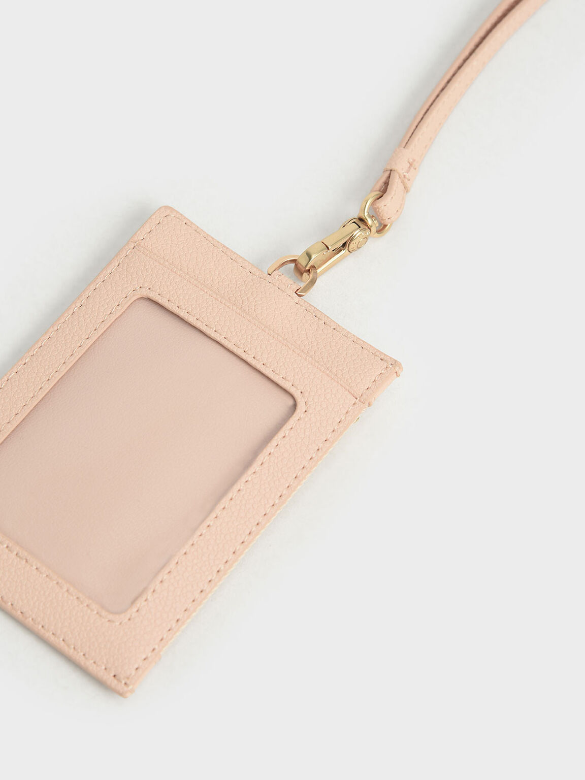 Side Zip Card Holder, Nude, hi-res