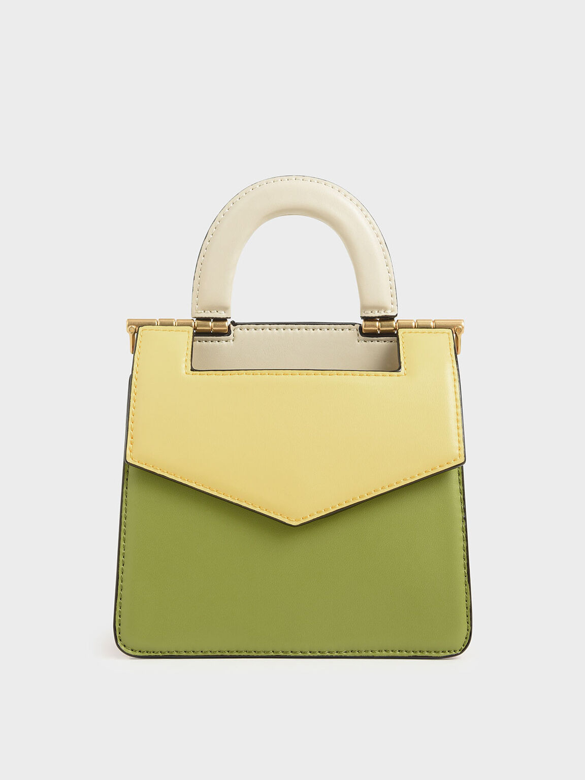 Mini Two-Tone Envelope Bag, Multi, hi-res