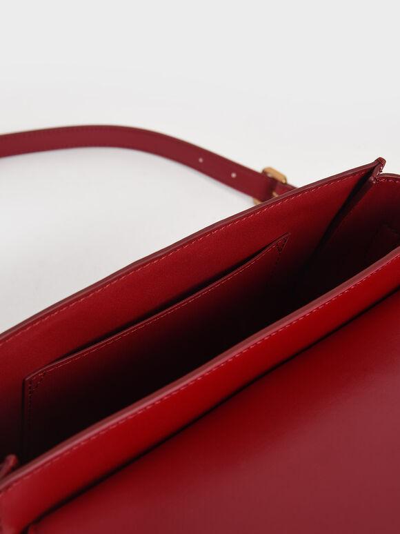 Gabine馬鞍包, 紅色, hi-res