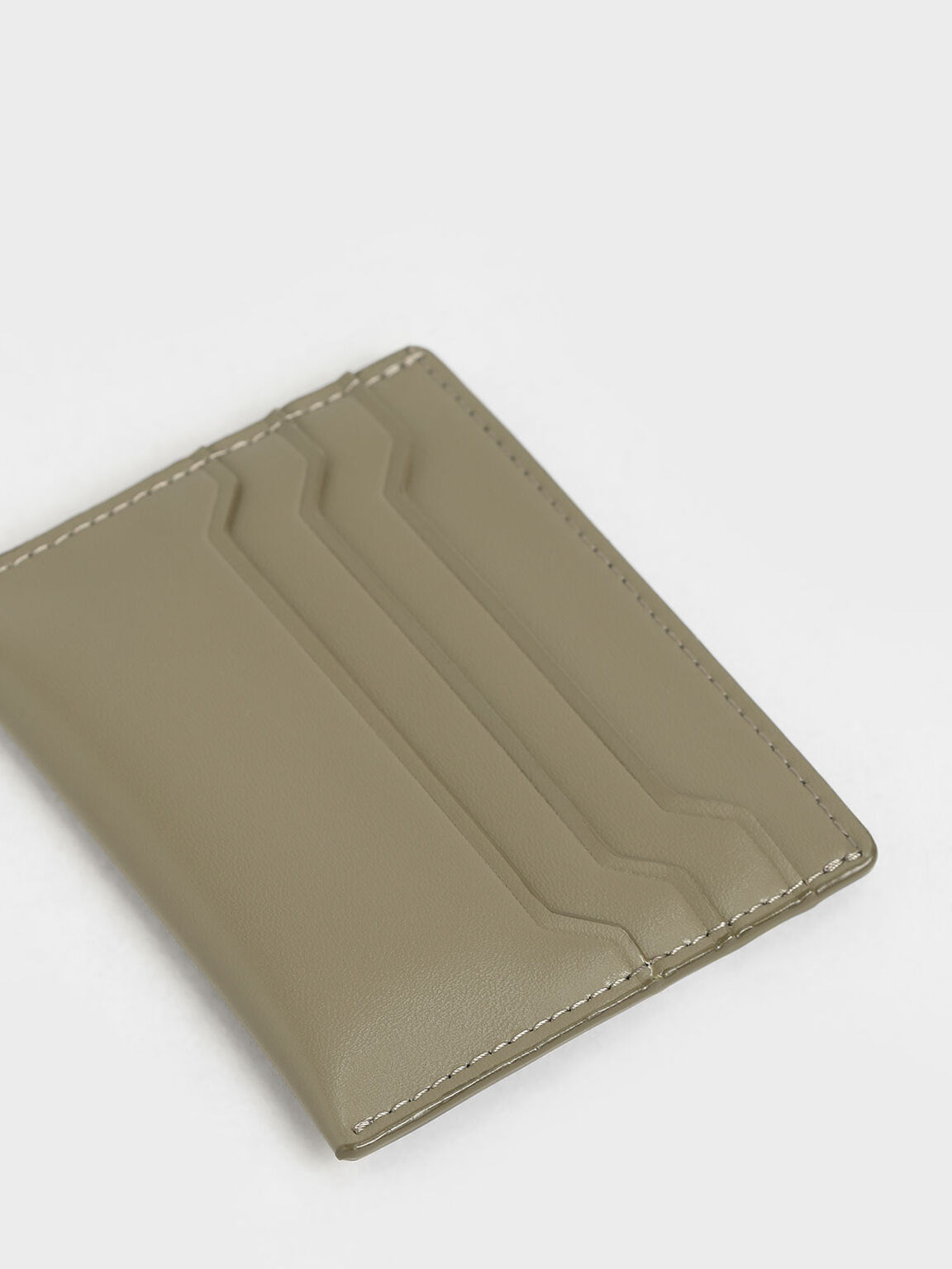 Multi-Slot Card Holder, Grey, hi-res