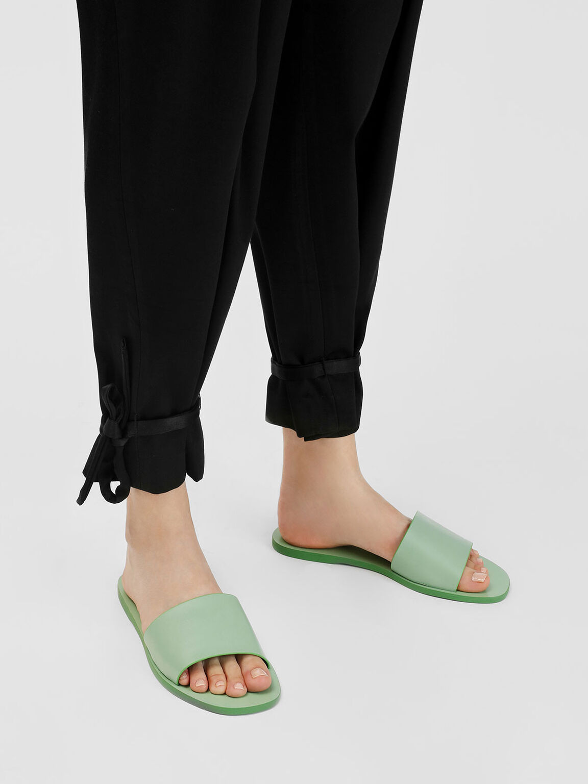 Candy Coloured Sliders, Sage Green, hi-res