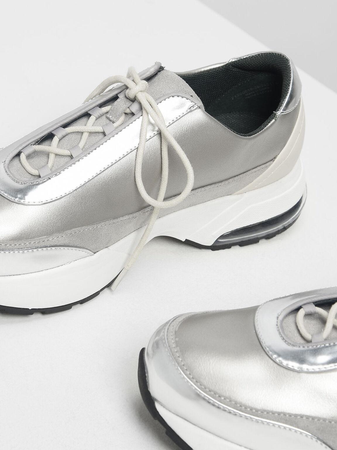 청키 스니커즈, Silver, hi-res