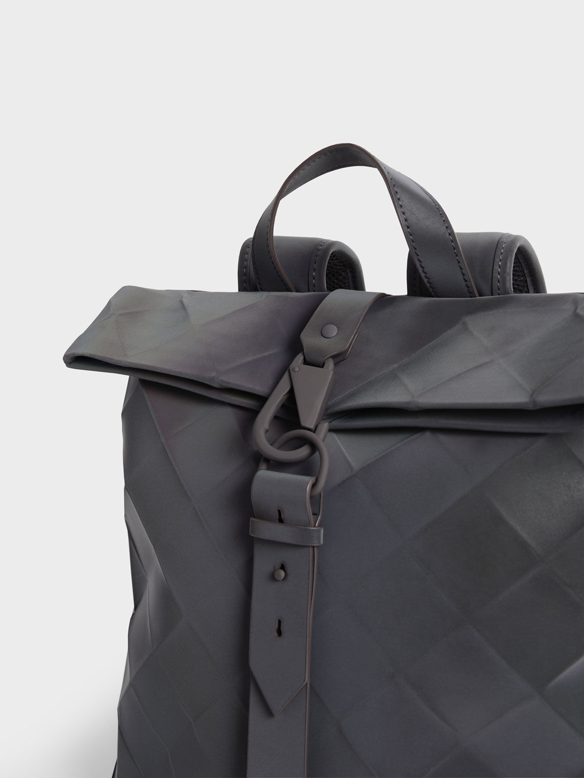 Large Geometric Backpack, Peacock, hi-res