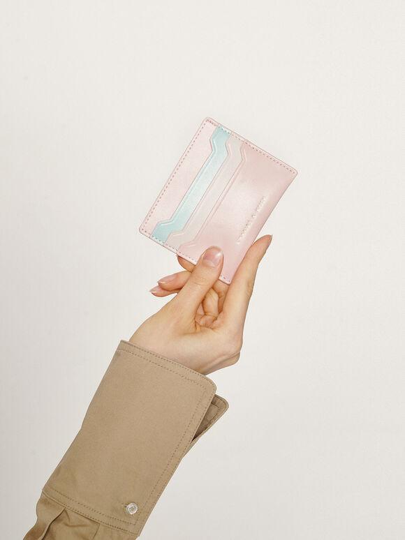 Multi-Slot Card Holder, Light Pink, hi-res