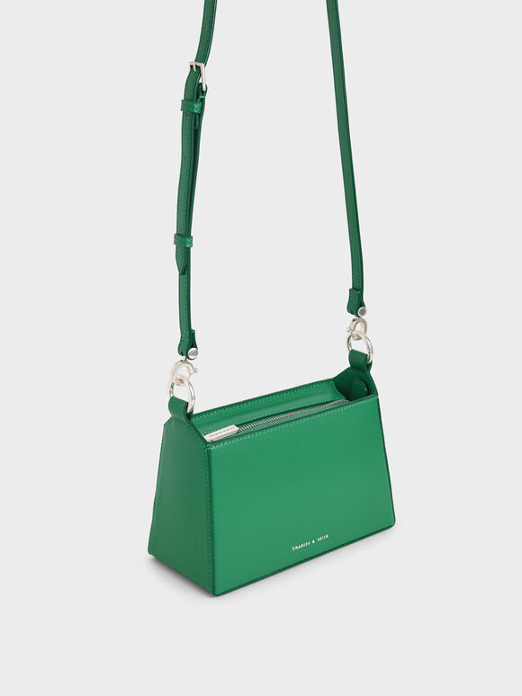 Ring Handle Bag, Green, hi-res