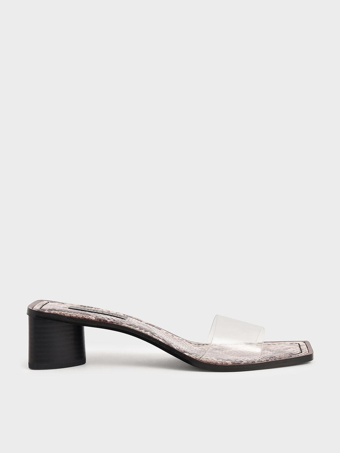 蛇紋果凍帶拖鞋, 原色動物紋, hi-res